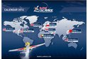 Red Bull Air Race 2014 world map