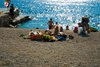 Rovinj Beach Porton Biondi suitable for children