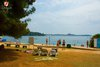 Rovinj Beach Lesso showers