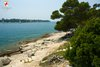 Rovinj Scaraba view on St. Andrew island