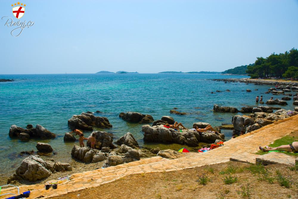 Spiaggia cuvi rovigno