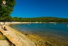 Rovinj Vestar Campground Beach Shallow sandy water